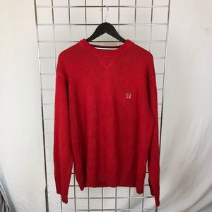 Tommy Hilfiger Red Knit Sweater